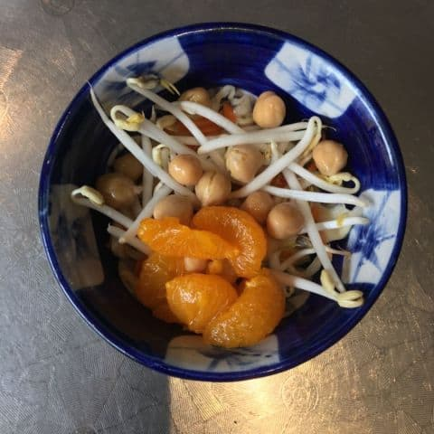 Sallad från salladsbuffé lunch – Bild från Nam Do av Agnes L.