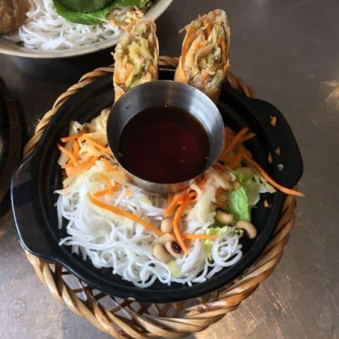 Vegetariska vårrullar – Bild från Nam Do av Agnes L.