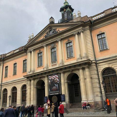 Bild från Nobel Prize Museum av Ida B.
