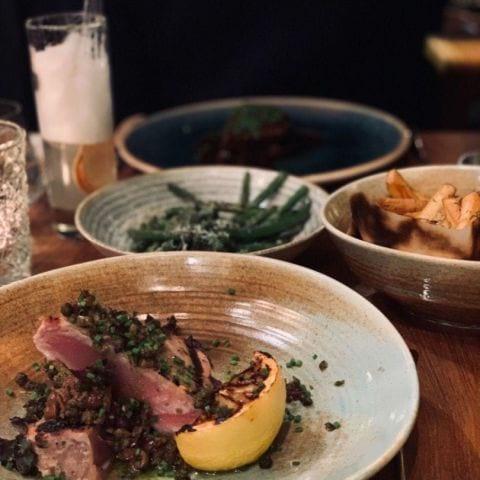 Tonfisk, oliv, persilja och kapris. – Photo from Nosh and Chow by Anita I.