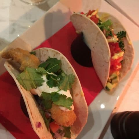 Fish taco och avokadotaco – Photo from NOC by Fredrik J.