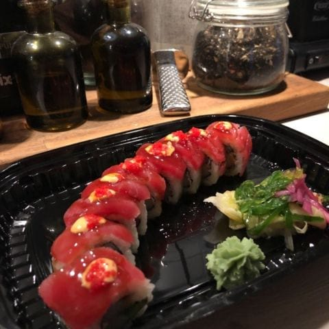 Spicy tuna – Photo from Okinawa Sushi by Malin C.