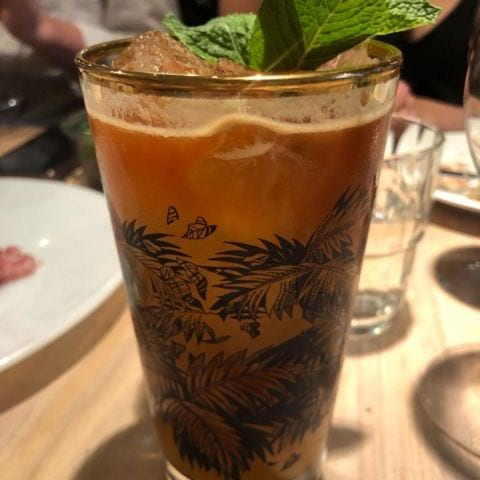 Ginger drink – Photo from Paradiso by Mythu L.