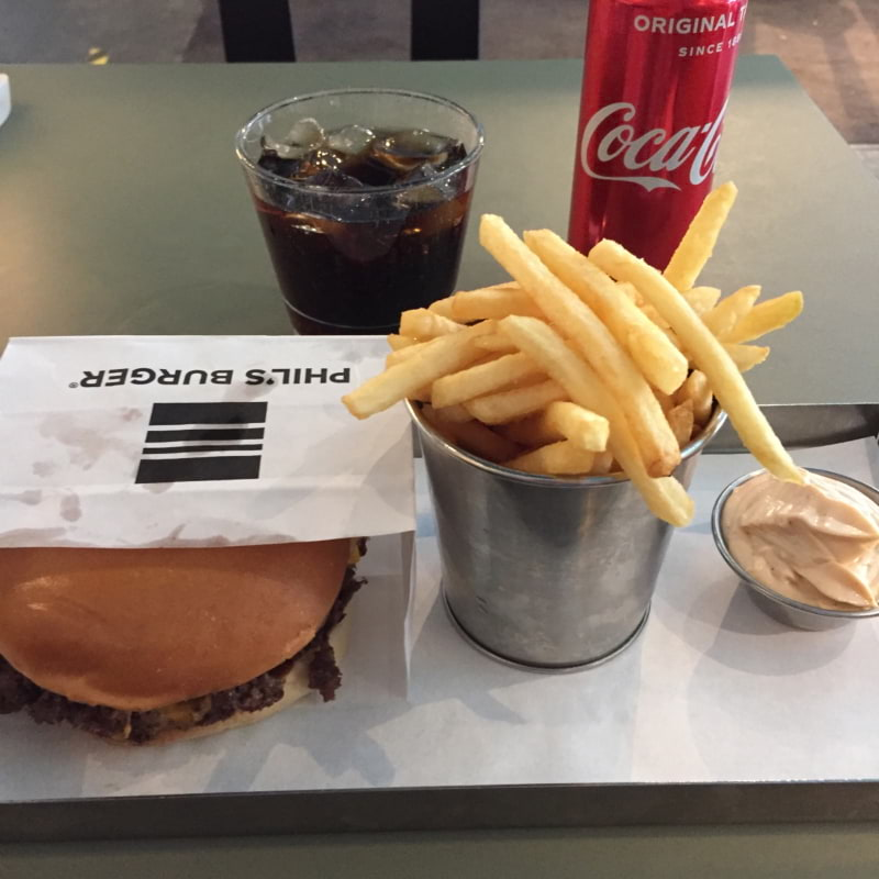 Tryffelburgare meny – Photo from Phil's Burger Götgatan by Peter B.