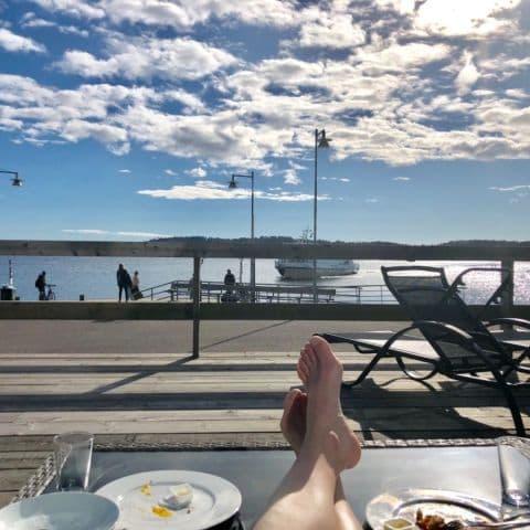 Härlig utsikt från sofforna – Photo from Pier 16 by Annelie V.