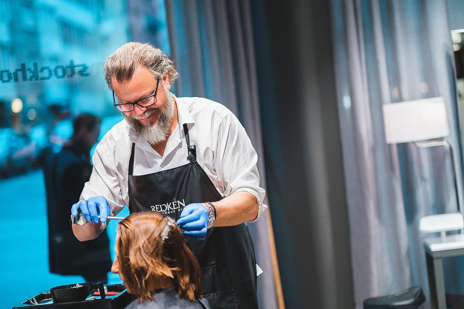 frisörer hårvård stockholm