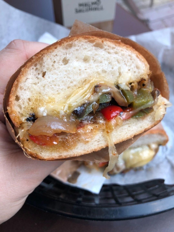 Philly Cheese – Bild från POMS mackor av Agnes L.