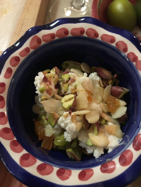 Ricotta med nötter – Bild från Prima av Ida B.