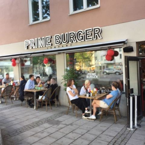 Bild från Prime Burger Company Gullmarsplan av Peter B.