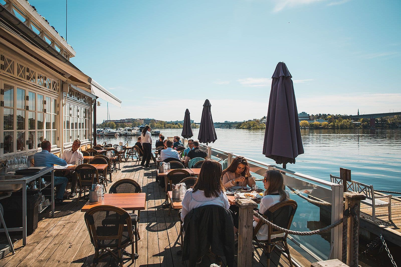 lunch med utsikt stockholm