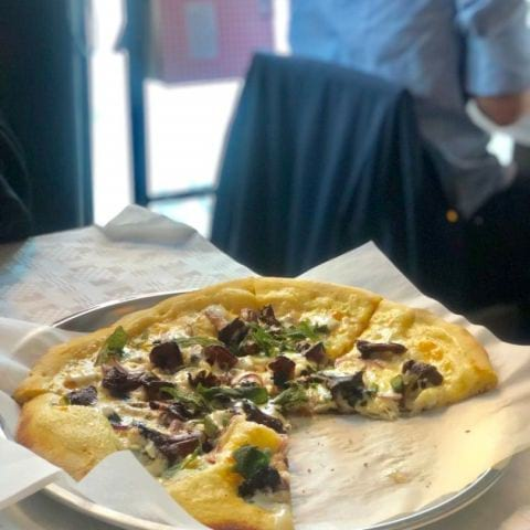 Kantarellpizza – Photo from Restaurang Marco's by Annelie V.