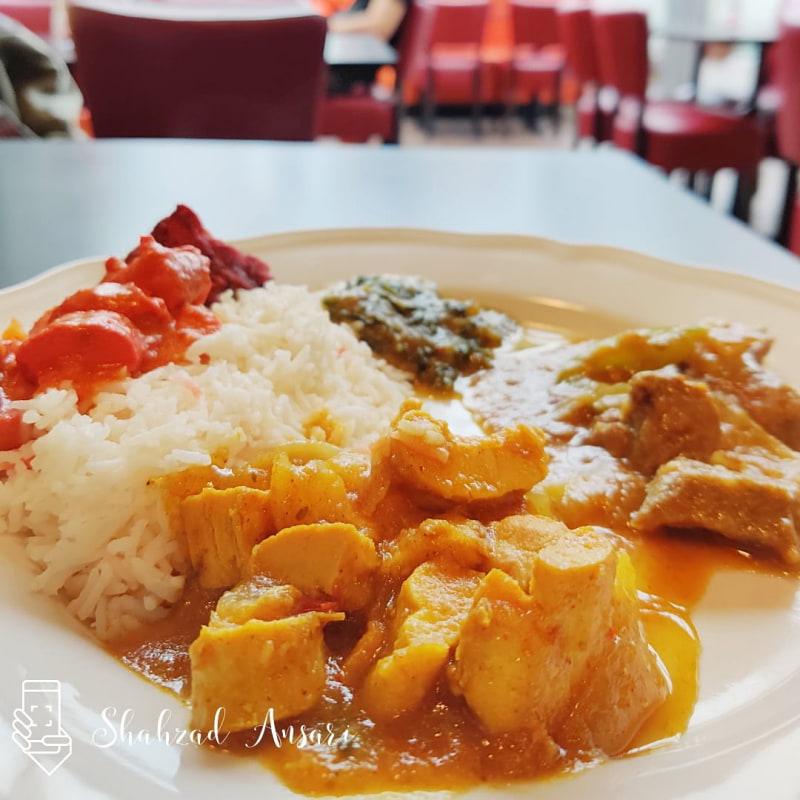Lunch buffe – Bild från Red Fort India av Shahzad A.