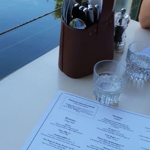 Menyn och vattnet – Bild från Restaurang Göteborg av Niklas E.
