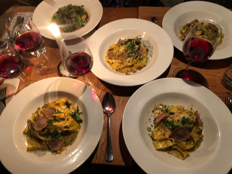 Tryffelveckor – Bild från Restaurant Aubergine av Linn W.