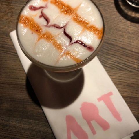 Amaretto sour – Photo from Restaurang Art by Erica E.