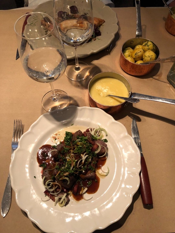 Lunch, skomakarlåda – Bild från Restaurang AG av Adam L.
