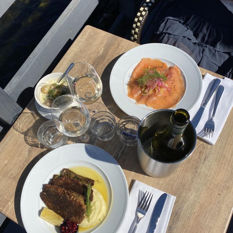 Bild från Restaurang Rökeriet Fjäderholmarna av Maja H.