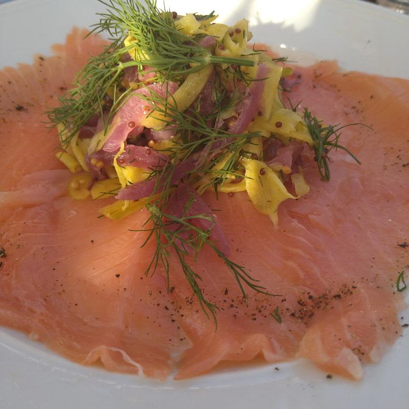 Bild från Restaurang Rökeriet Fjäderholmarna av Catrin M.