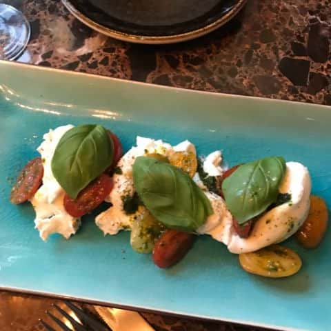 Burrata med basisk och tomat – Photo from Restaurang Artilleriet by Malin S.
