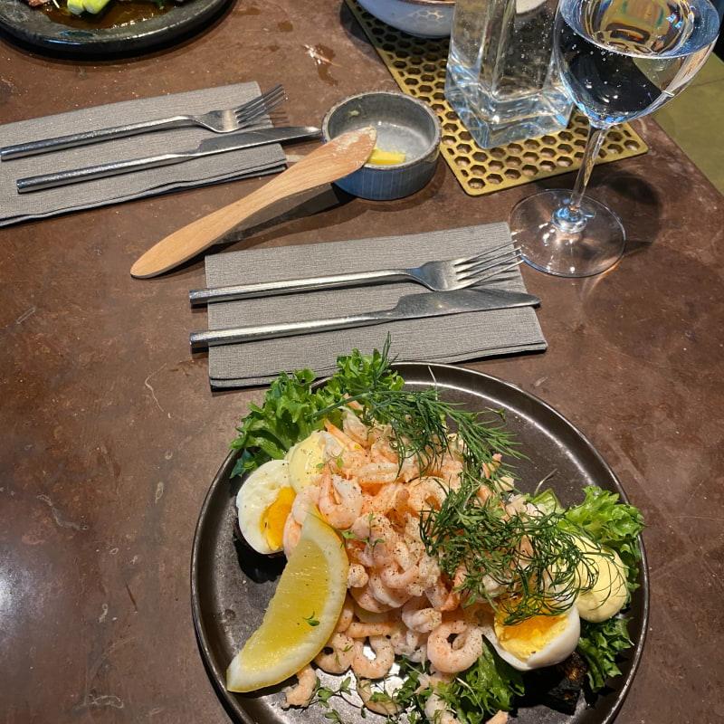 Räkmacka – Bild från Restaurang Hantverket av Adam L.