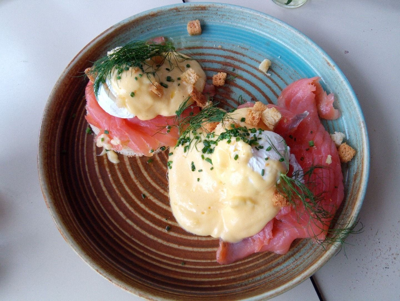 Eggs benedict – Bild från Restaurang Göteborg av Katarina D.
