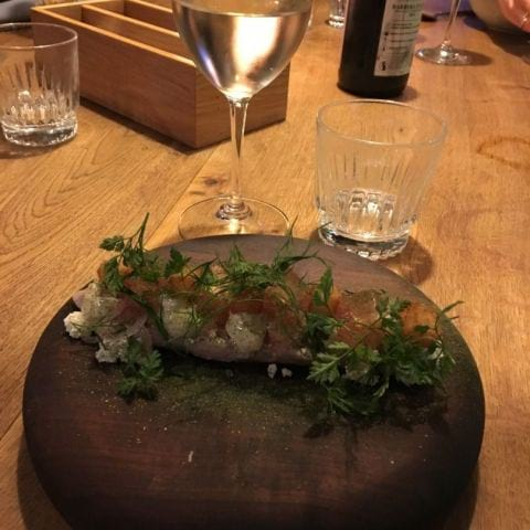 Makrill – Photo from Restaurang Hantverket by Louise T.