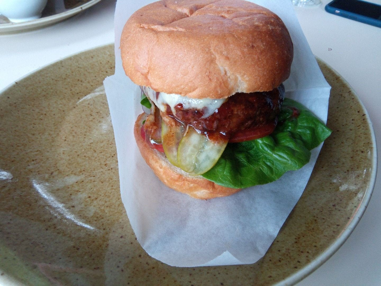 Cheeseburger – Bild från Restaurang Göteborg av Katarina D.