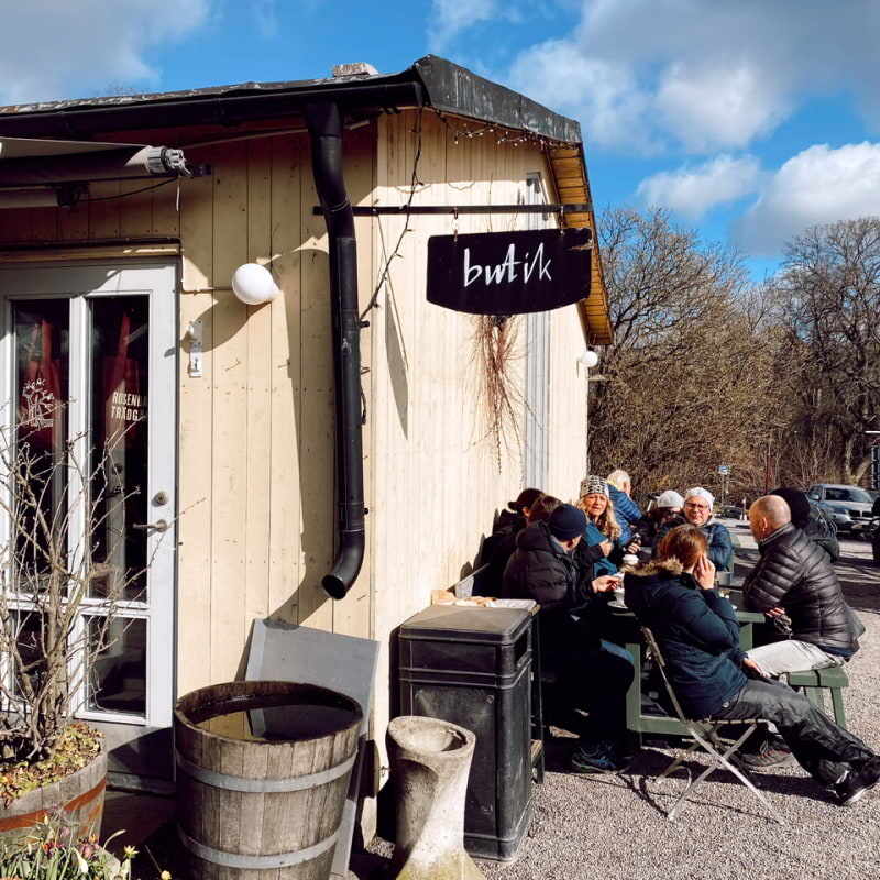 Bild från Rosendals Trädgård av Isabelle W.
