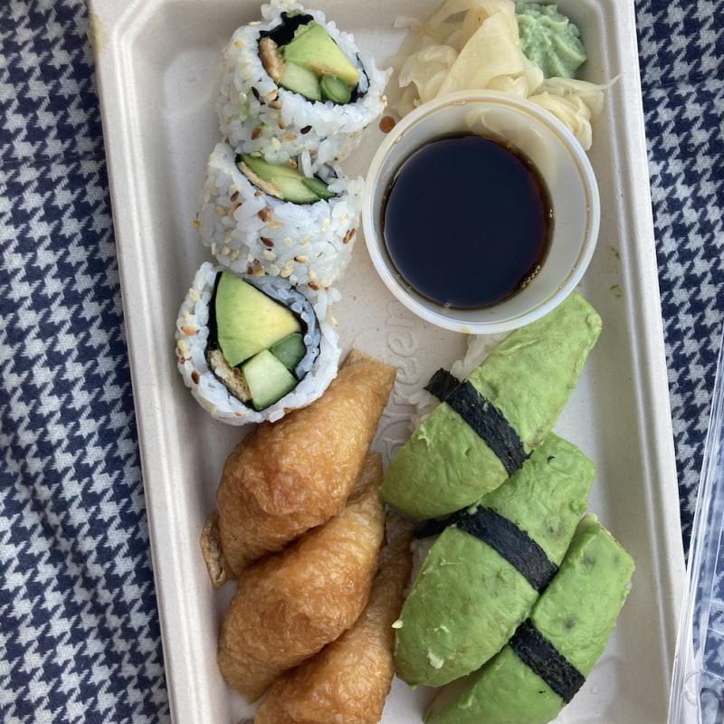 Vegetarisk 9-bitars – Bild från Saya Sushi Östermalm av Jessica K.