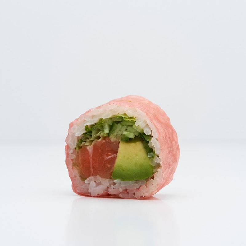 Maki med rosa nori – Bild från Saya Sushi Hötorget av Saya S.