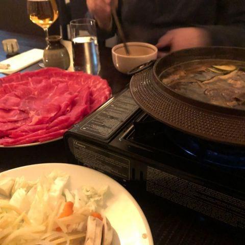 Sukiyaki – Photo from Samurai by Tove E.