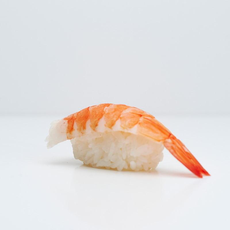Nigiri med räka – Bild från Saya Sushi Hötorget av Saya S.