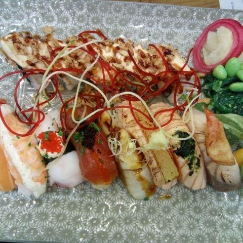 Bild från Sakae Sushi av Katarina D.