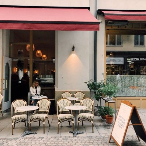 Nybrogatan – Photo from Schmaltz Bar & Delicatessen by Linn W.