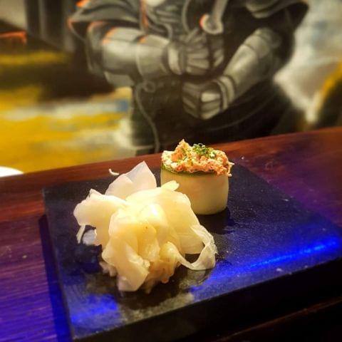 Krabba – Bild från Senshi Sushibar av Thessa H.