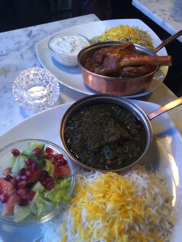Ris med Grönsaker gryta – Bild från Sima Deli av Farhad K.