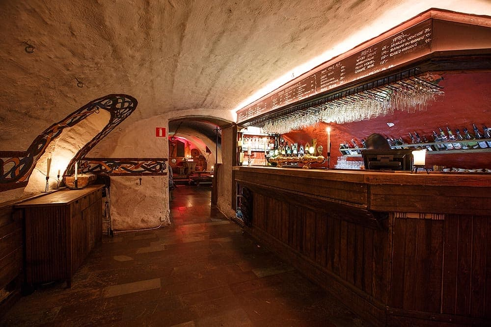 medeltida restaurang gamla stan