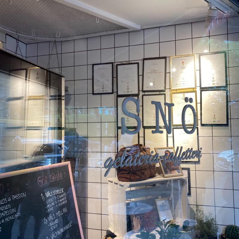 Bild från Snö Odengatan av Madiha S.