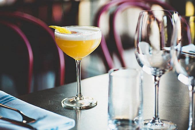 Cocktails i Mosebacke Etablissement · Södra Teatern