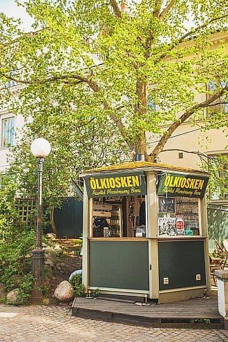 Ölkiosken på Mosebacketerrassen · Södra Teatern