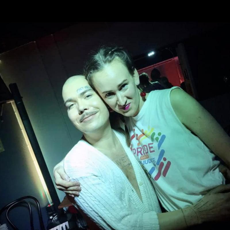 Charles Ludvig & Bara Karin – Bild från Socialen Bar av Joakim J.