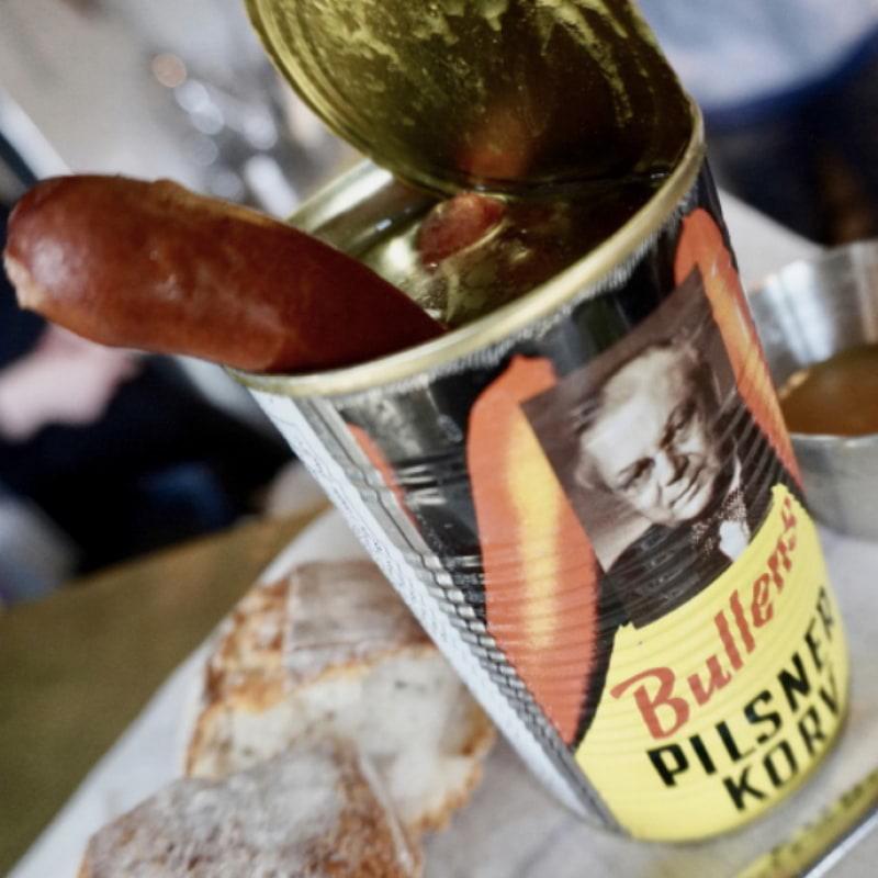 Bullens Pilsnerkorv – Bild från Socialen Bar av Joakim J.