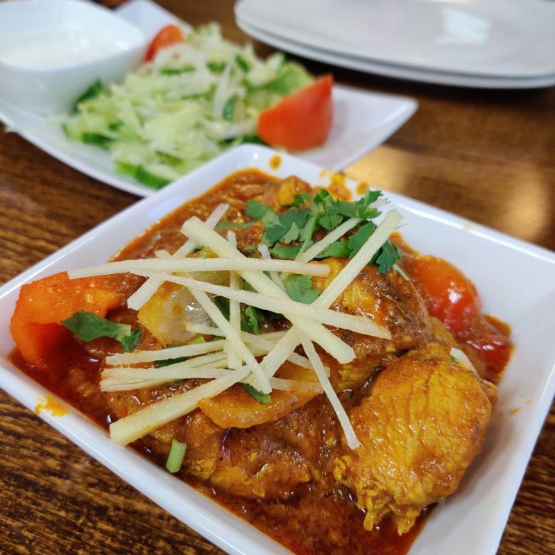 Chicken Karahi – Bild från Spice Villa av Shahzad A.