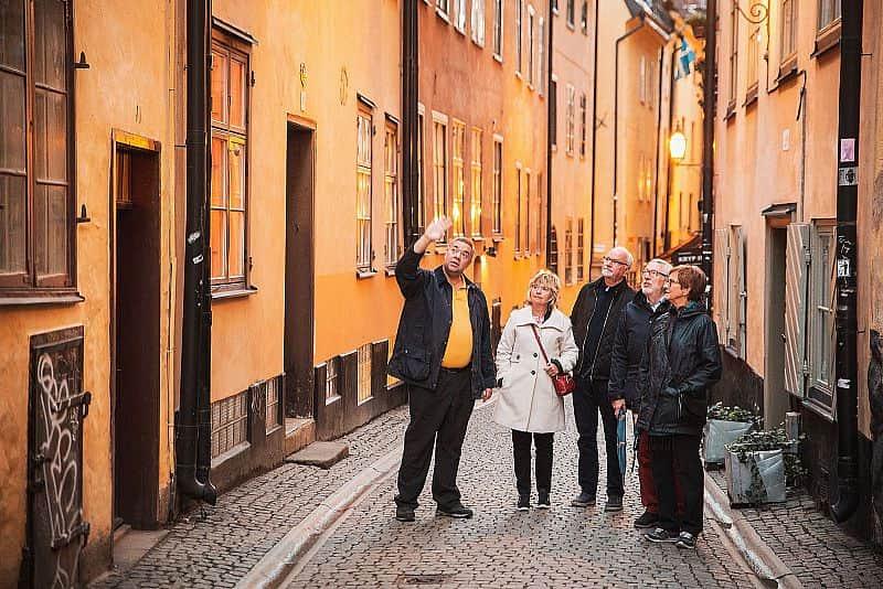 Stadsvandringar i Stockholm