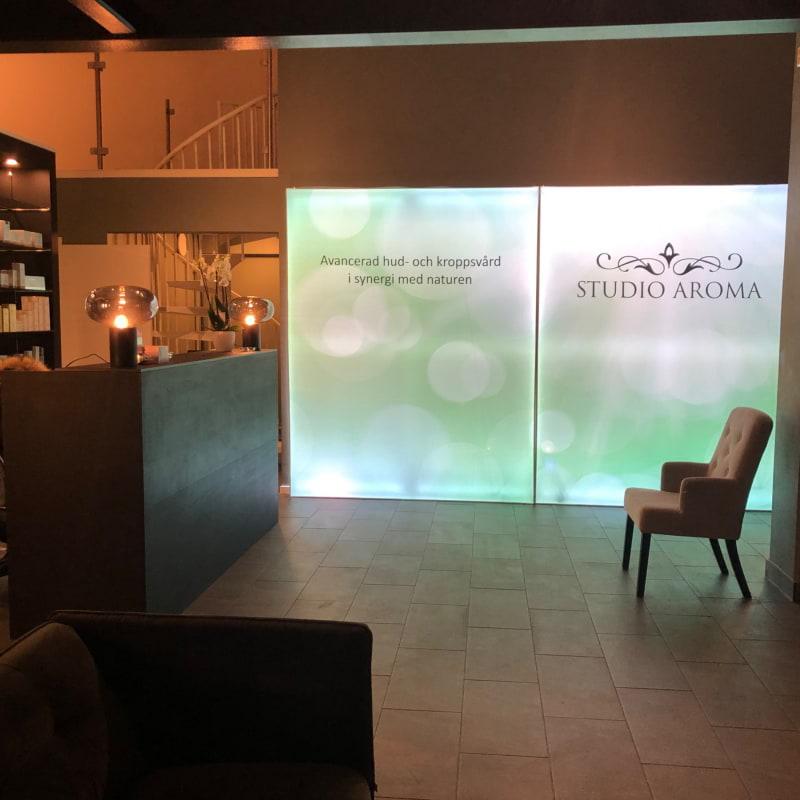 Ljusväggen är så snygg – Bild från Studio Aroma Teatergatan av Gunilla G.