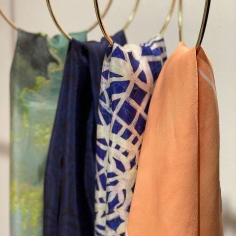 Studio Heijne scarves – Bild från Studio Heijne av Wendy H.