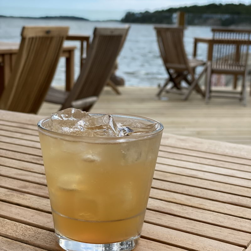 Whiskey sour – Photo from Strandbaren Idöborg by Erica E.