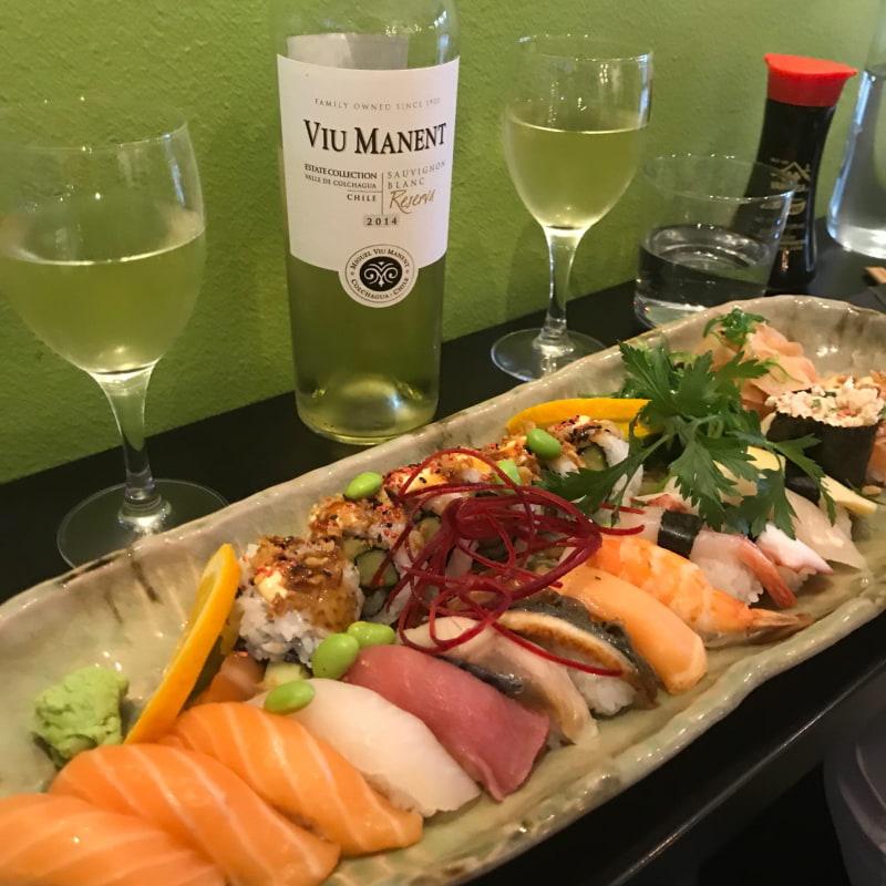 20-bitars sushi – Bild från Sushishopen Östermalm av Anna E.