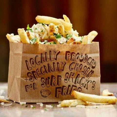 Garlic Freis 😋 – Bild från Surf Shack Smash Burgers av Natasha L.