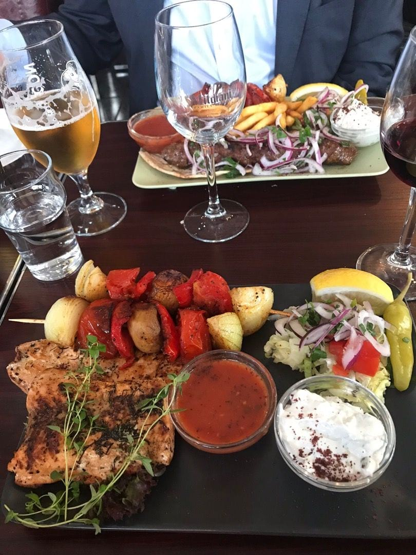 Stora och goda portioner! – Bild från Tbilisis Hörna av Birgitta B.